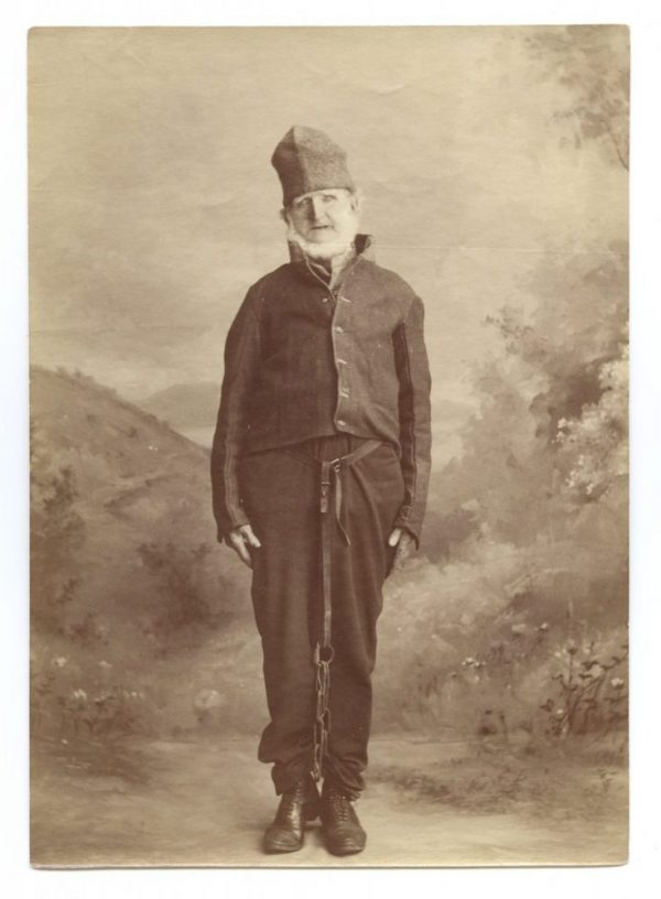 historic image of convict Bill Thompson
